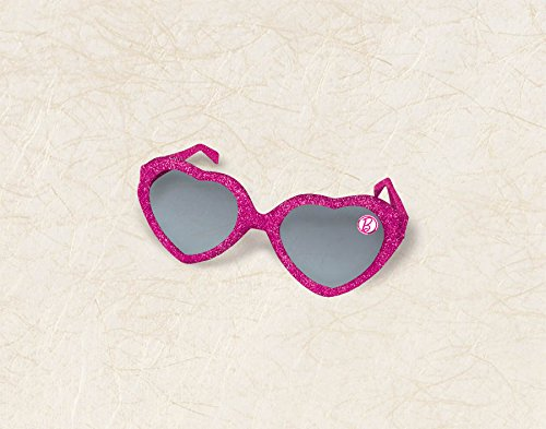 Glitter Heart Glasses Favors | Barbie Sparkle Collection | Party Accessory
