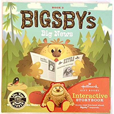Hallmark Interactive Storybooks KOB8027 Bigsby's Big News ~ Book 3: Toys & Games