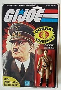 Hitler Novelty Action Figure Rare Gi Joe 3.75 inch