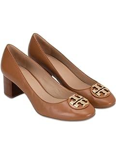 88f80eb4c1 Amazon.com | Tory Burch Luna 85mm Wedge Leather Shoes | Platforms ...