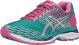 ASICS Women's Gel-Nimbus 18 running Shoe, Lapis/Silver/Sport Pink, 8.5 M US