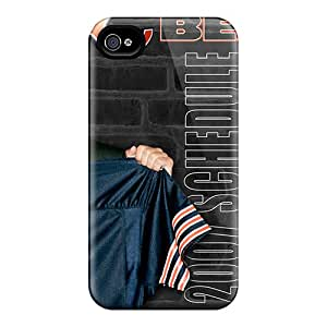 Iphone 4/4s UNb11339yAfe Unique Design High Resolution Chicago Bears Pattern Perfect Hard Cell-phone Case -JonathanMaedel