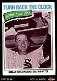 1977 Topps # 436 Turn Back The Clock Bob Keegan Chicago White Sox (Baseball Card) Dean's Cards 3 - VG White Sox