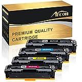 #5: Arcon 4 Packs Compatible HP 410A 410X CF410X CF411X CF412X CF413X Toner Cartridge for HP Color LaserJet Pro MFP M477fnw M477fdw M477 Fnw M477fdn M452nw M452dn M452dw M452 Fdw Printer Toner Cartridge