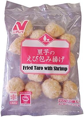 【冷凍】 ニチレイフーズ 里芋 の えび 包み揚げ 15個入 (270g) 業務用