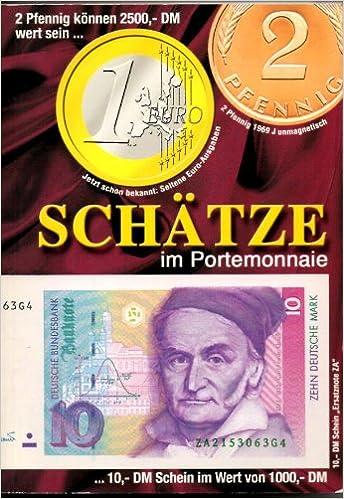 Schätze Im Portemonnaie Deutsche Mark Münzen U Papiergeld