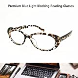 Reading Glasses Blue Light Blocking - Oval Computer