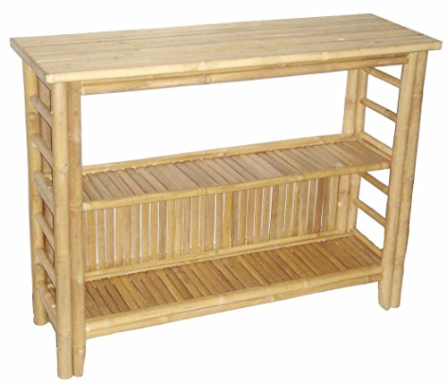 bamboo-54-fancy-console-table-with-shelf-brown