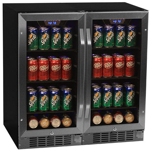 Edgestar CBR901SGDUAL Built Beverage Cooler