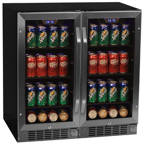 Sunpentown 92 Can Entertainment Party Club Beverage Cooler C