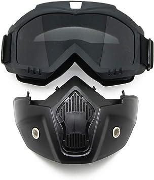 EnzoDate Motocicleta Bici de la Suciedad ATV Gafas Máscara ...