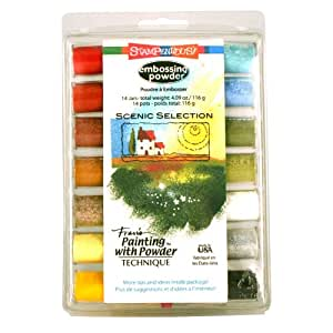 Stampendous Embossing Powder Selection, Scenic, Multi Color