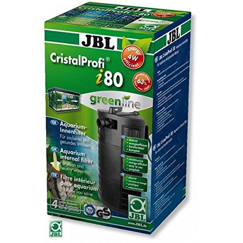 JBL 6097200 Energieeffizienter Innenfilter für Aquarien mit 60-110 L, CristalProf i80 greenline