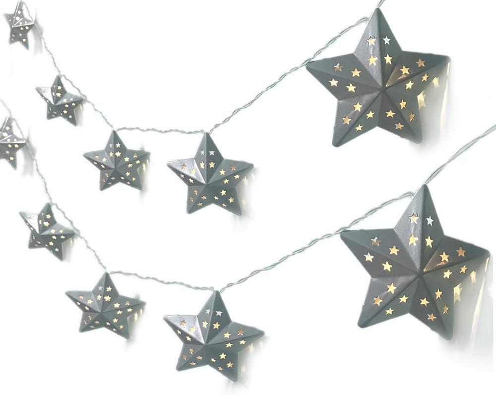 Twinkle star string lights (plug-in fairy lights)
