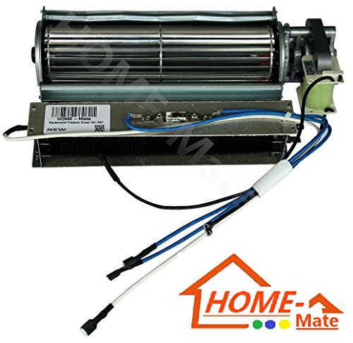 Hongso Replacement Fireplace Fan Blower & Heating Element for Heat Surge Electric Fireplace (Ir Fireplace Heater compare prices)