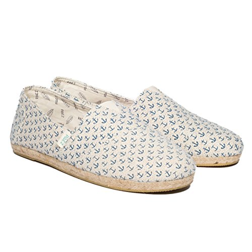 print Blue Paez Donna Vari Original anchors Colori Blue Espadrillas Raw Anchors 65qrwIAnZq