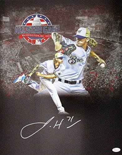 Brewers Josh Hader Autographed Signed 16x20 Photo #15 Auto - 2018 All Star - Haderade - Memorabilia JSA