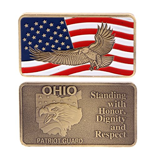 TIANYA American Eagle Copper Plating Commemorative Challenge Coin Collection Zinc Alloy ()