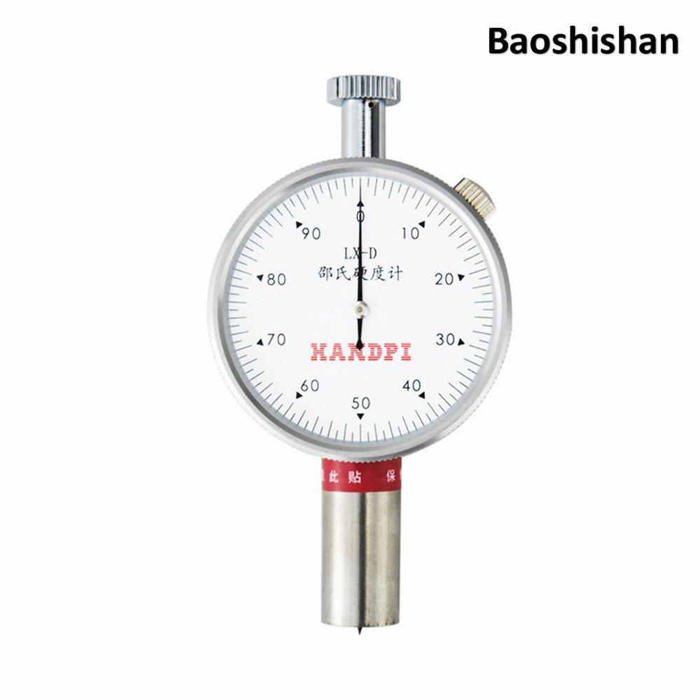 Handhold Shore Hardness Tester Rubber Shore Durometer (LX-D, Double needle)   B07547HVZP