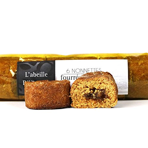 Abeille Diligente – Mini Honey Gingerbread Cakes (Nonnettes) with Orange Jam, 200g