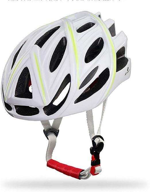 WERT Casco De Ciclismo De Bicicleta Riding Gear Ultralight Bike Helmet Accesorios Safety Cap Protection EPS PC 57-62cm,White: Amazon.es: Hogar