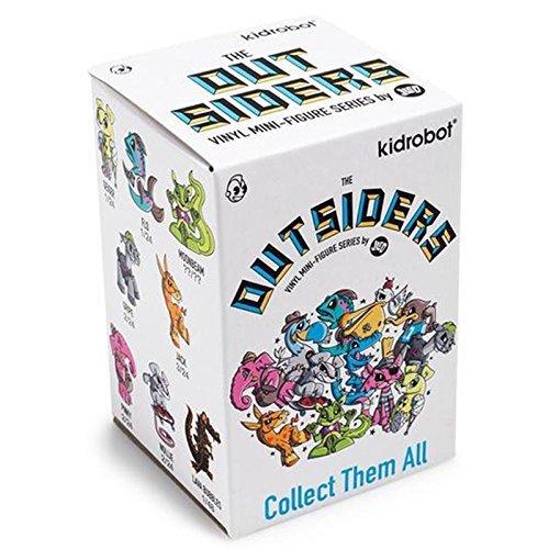 Kidrobot The Outsiders Blind Box Mini Figure - One Figure from Kidrobot