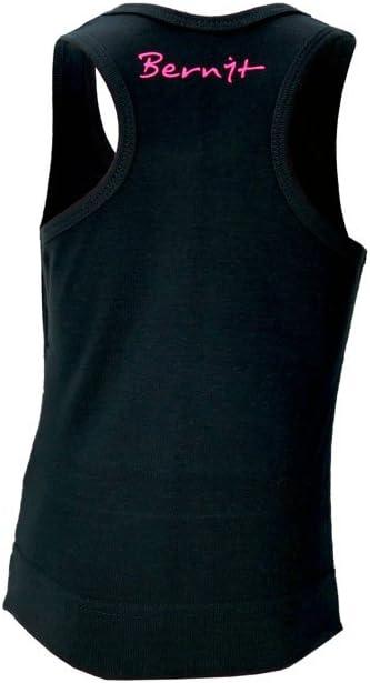 Shirt Gymnastique D/ébardeur Noir Top Fille Enfant 10-12 ans