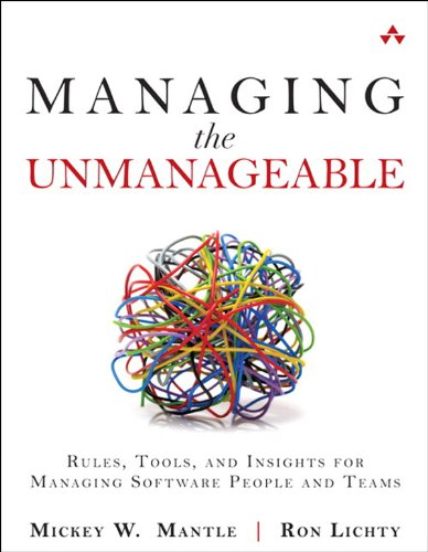 Personnel Forms Software - Managing the Unmanageable: Rules, Tools, and Insights for Managing Software People and Teams
