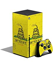 MightySkins Skin Compatible with Xbox Series X Bundle - Dont Tread   Protective, Durable, and Unique Vinyl Decal wrap Cover   Easy to Apply, Remove, and Change Styles   Made in The USA