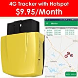 Spectrum SMART: 4G OBD II GPS Tracker for Vehiclest, Real Time Online Tracking, Unsafe Driving Alert, Engine Diagnosis, Fuel Consumption Monitoring, No Contract, Only 9.95/Month
