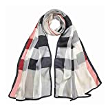 Burberry Ligtweight Check Silk Scarf - Stone