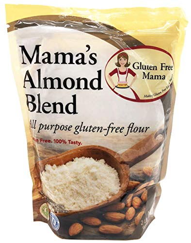 - Gluten Free Flour - Gluten Free Mama's Almond Blend Flour - Non-Gritty Texture - Great Flavor for Recipes - Certified Gluten Free Ingredients - All Purpose - Safe for Celiac Diet