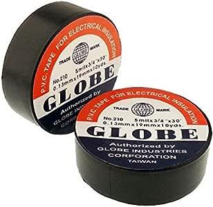 Globe İzole Elektrik Bandı Siyah
