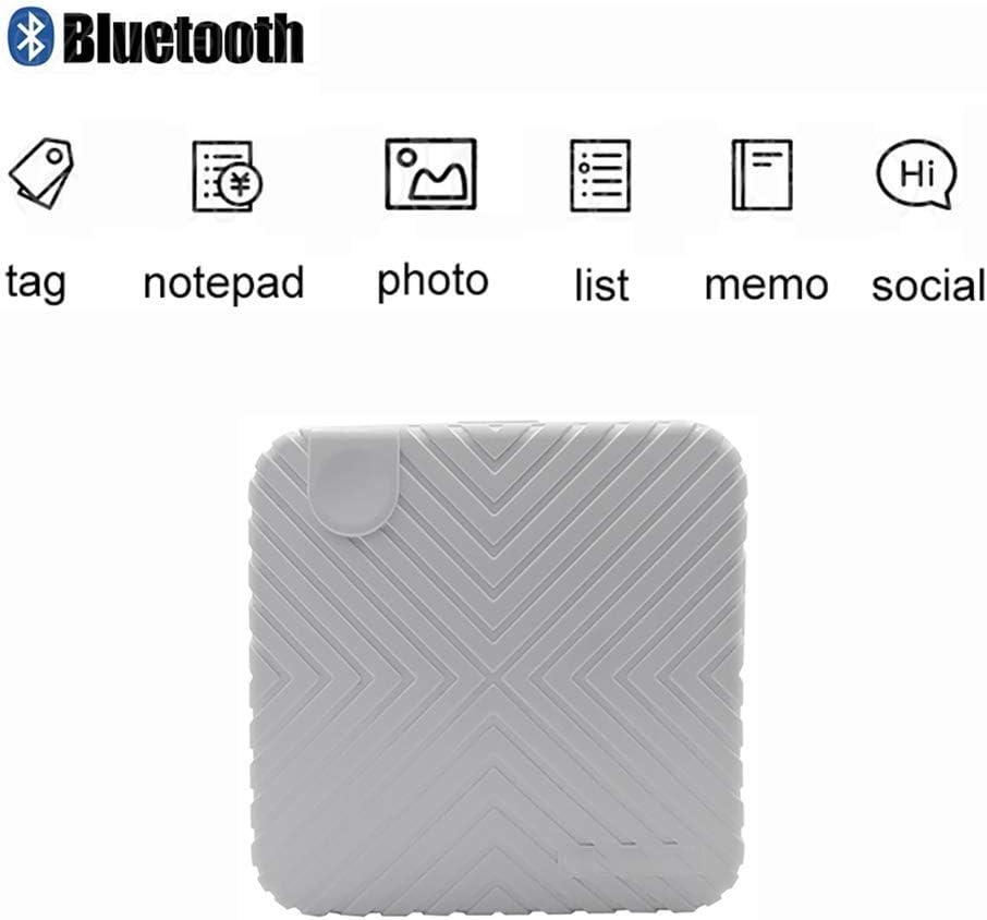 WOWOGA Mini Impresora para teléfonos Inteligentes, Bluetooth 4.0 ...