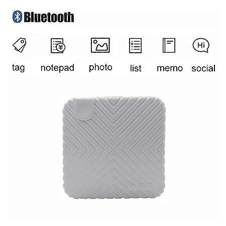 WOWOGA Mini Impresora para teléfonos Inteligentes, Bluetooth ...