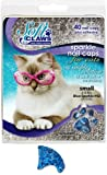 Soft Claws for Cats, Size Small, Color Blue Glitter, My Pet Supplies