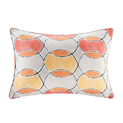 Gaviota Printed Circles 3M Scotchgard Outdoor Oblong Pillow