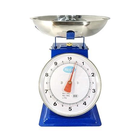 BWNWPH Balanza mecánica, 1kg3kg5kg Balance de Primavera Bandeja de ...