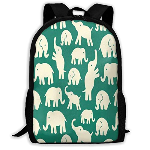 Backpack Indian Animal Elephant Designer For Girl ()