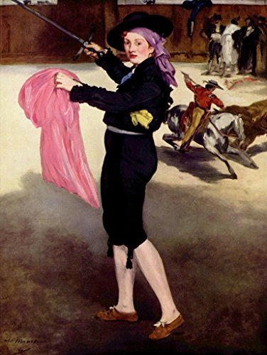 Lais Jigsaw Edouard Manet - Portrait of The Mlle Victorine in The Costume of a Bullfighter 2000 Pieces -