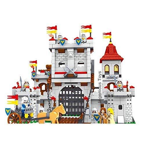 Amazon.com: Ausini Caballeros Castillo Sets/de marca del Rey ...