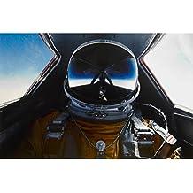 Poster: Pilot in Cockpit of SR-71 Blackbird; Custom Printed Photographic Poster