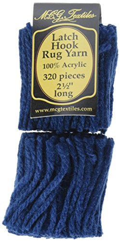 Latch Hook Rug Yarn  -Navy
