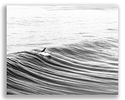 Black And White Surfing Photography Prints