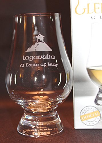 LAGAVULIN PAGODA TOP GLENCAIRN SINGLE MALT SCOTCH WHISKY TASTING GLASS