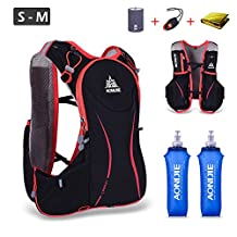 Triwonder Hydration Pack Backpack 5L Lightweight Deluxe Marathoner Running Race Hydration Vest