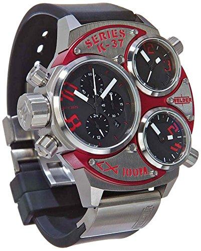 Welder K37-6500 - Reloj para hombres, correa de goma color negro: Amazon.es: Relojes