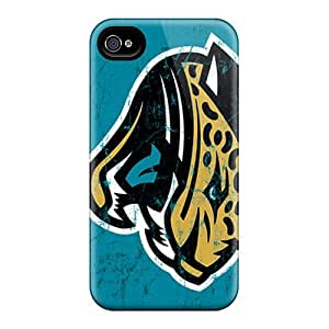 Shock Absorption Hard Cell-phone Cases For Iphone 6plus (ygA20082ikoT) Customized Stylish Jacksonville Jaguars Pattern