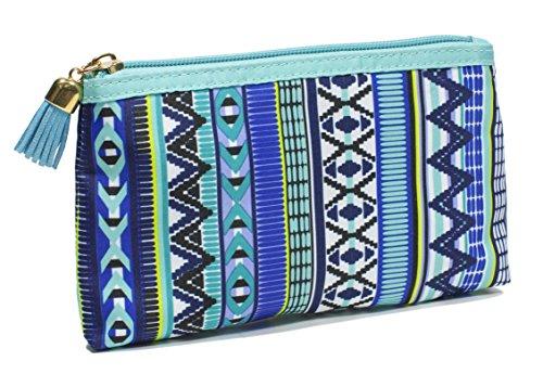 Modella Indigo Hues Collection Cosmetic Purse Kit, Tribal ()
