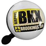 Small Bike Bell Airportcode BKX Brookings, SD - NEONBLOND